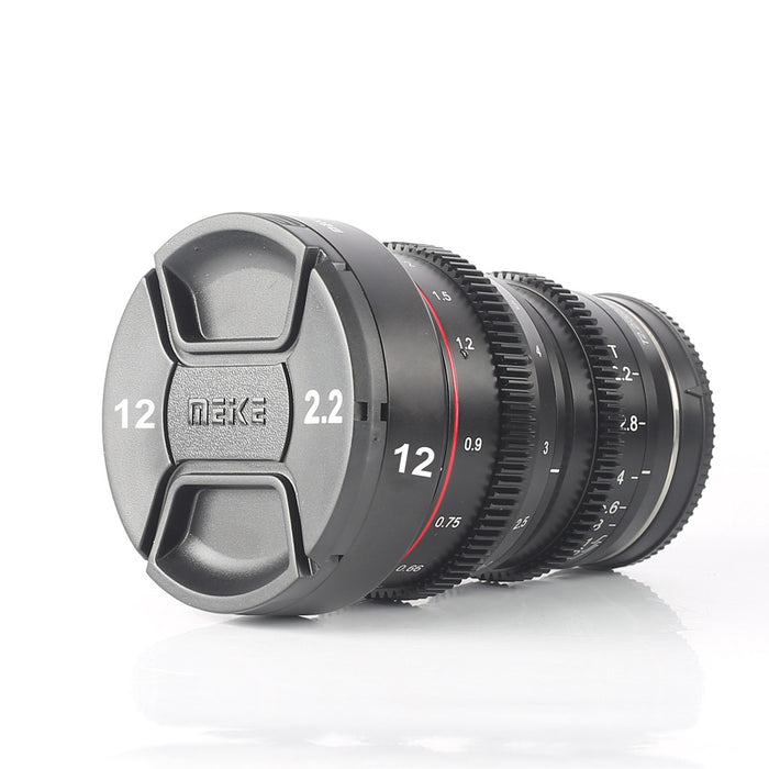 New Lens Cap for T2.2 Mini Prime Series Cine Lens With the Silver Markings for Focal and Aperture