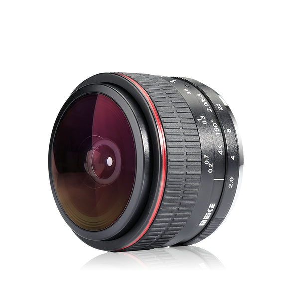 Meike MK-6.5mm f/2.0 Ultra Wide Circular Fisheye Lens for Fujifilm X Mount Mirrorless Cameras-Fast Delivery