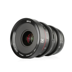 Meike T2.2 Cine lens for Fujifilm X mount MK-35mm T2.2 with APS-C-Fast Delivery