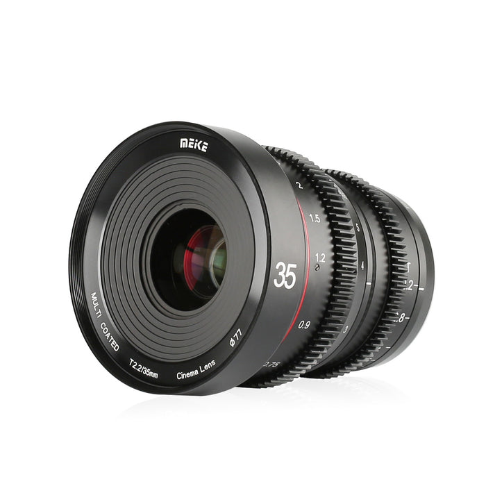 Meike T2.2 Cine lens for Sony E mount MK-35mm T2.2 with APS-C-Fast Delivery