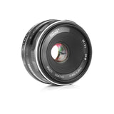 Meike MK 25mm F1.8 Large Aperture Wide Angle Lens Manual Focus Lens for Nikon 1 Mount Mirrorless Cameras