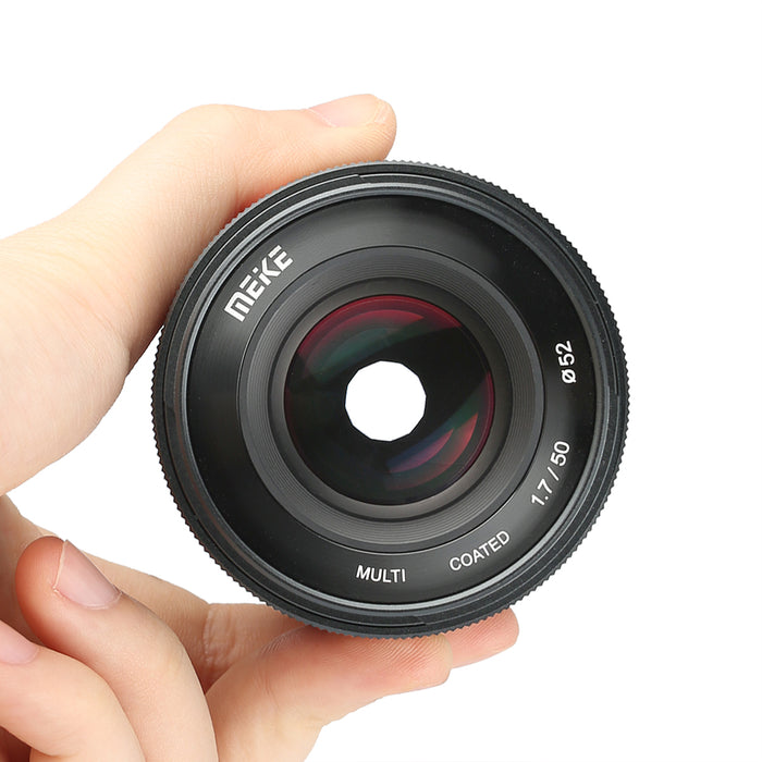 Meike MK-50mm FE  F/1.7 Full Frame Large Aperture Manual Focus Sony FE E Mount Lens-Fast Delivery