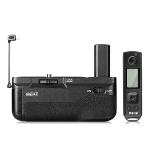 Meike MK-A6300 PRO Battery Grip for Sony A6400 A6300 A6000 Camera with Remote Controller + Gift with TTL Cord
