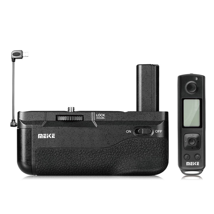 Meike MK-A6300 PRO Battery Grip for Sony A6400 A6300 A6000 Camera with Remote Controller