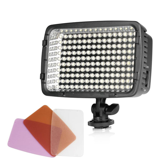 Meike MK160 LED Light Video Shooting For Canon, Nikon, Pentax, Panasonic, SONY, Samsung and Olympus Digital SLR Cameras