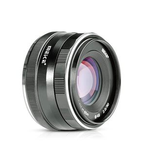 Meike 50mm f/2.0 Large Aperture Manual Focus MFT M4/3 Lens APS-C for Micro 4/3 System Olympus Panasonic Lumix Mirrorless Cameras-Fast Delivery