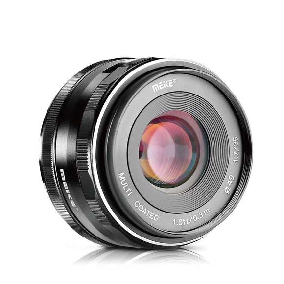 Meike Prime X mount lens MK-35mm F/1.7 for Fujifilm X Mount Mirrorless Cameras