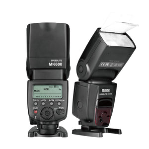 Meike MK600 1/8000s SYNC TTL Speedlight Camera Flash for Canon 1300D 70D 6D 5DII 5DIII 7D 60D 550D 600D 650D 800D