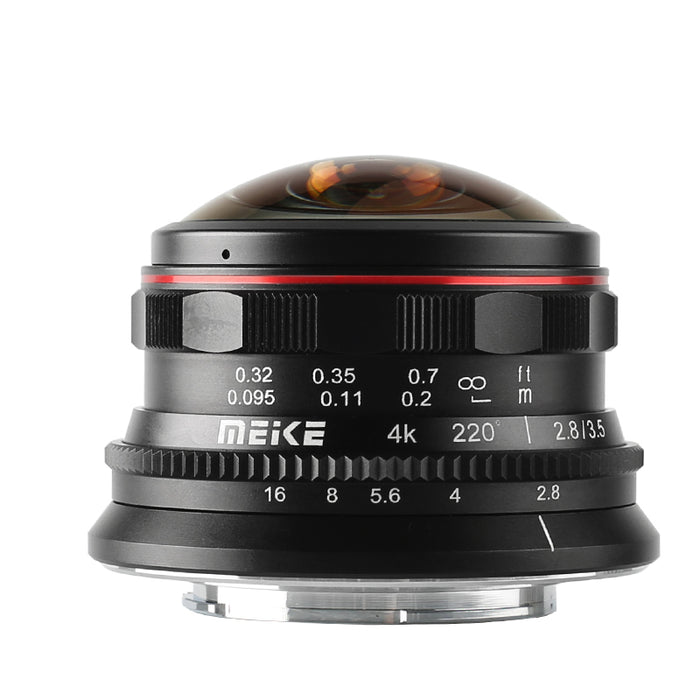 Meike 3.5mm f/2.8 Ultra Wide Angle Manual Fixed Lens for MFT-Fast Delivery