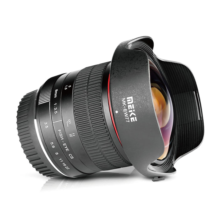 Meike 8mm f/3.5 Ultra Wide Angle Fisheye Lens for Nikon Z Mount-Fast Delivery