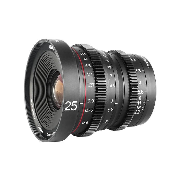 Meike T2.2  Series  3*Cine lens Kit for FuJi-X Mount -Fast Delivery
