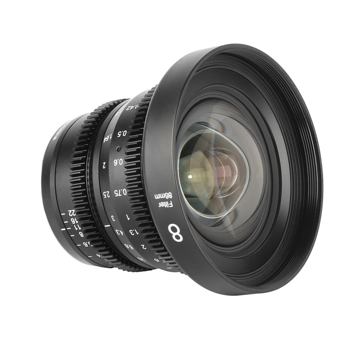 Meike Cine Lens 8mm T2.9 for  MFT-Fast Delivery
