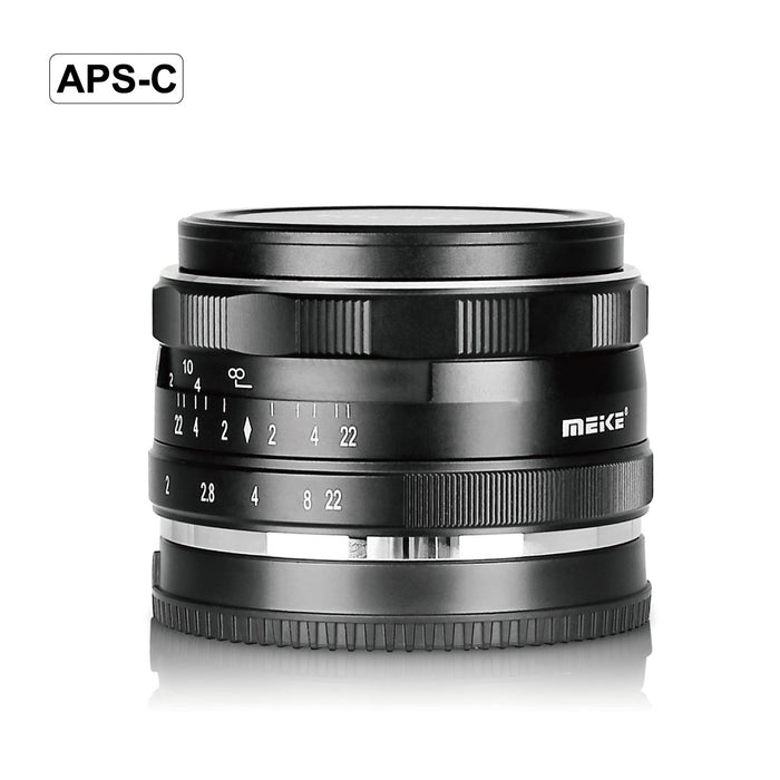 Meike 35mm F1.7 Manual Prime Fixed Lens for Canon EOS Mount-Fast Delivery