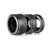 Voking VK-S-ET2 13mm 21mm 31mm Macro Auto Focus Extension Tube Ring Set AF for Sony Alpha DSLR