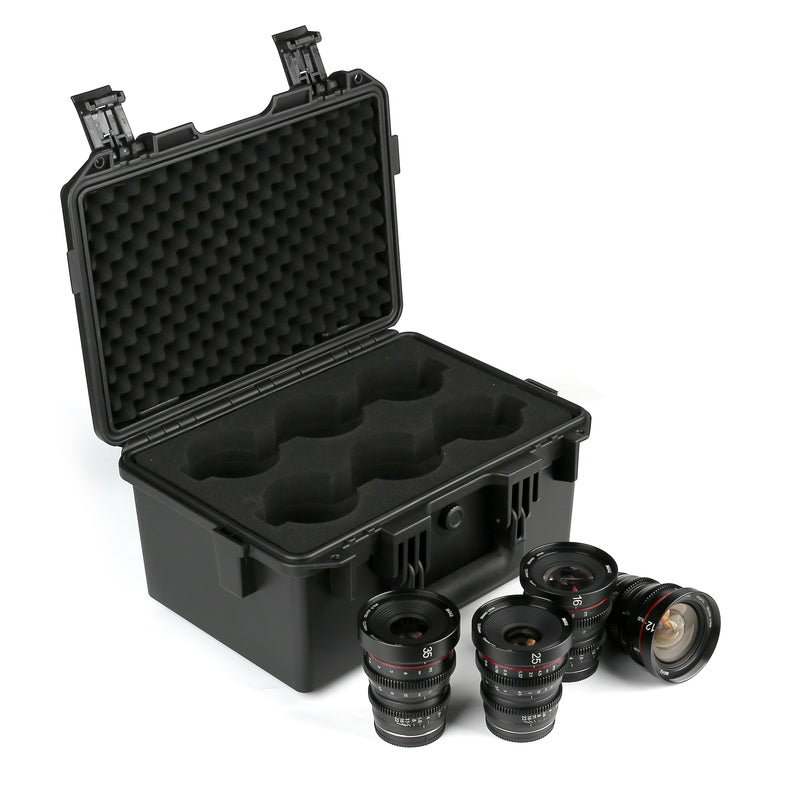 Meike Hard Lens Case for T2.2 Cine Lens Kit