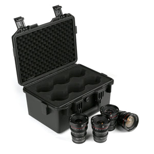Presale :Meike T2.2 Cine lens Kit ( 4 MFT lenses 12mm 16mm 25mm 35mm ) with a Cine Lens Case