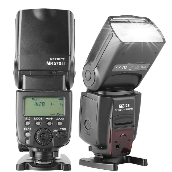 Voking VK581C TTL High Speed Sync Master Flash Speedlite for Canon EOS 70D 77D 80D Rebel T7i T6i T6s T6 T5i T5 T4i T3i SL2 and Other Canon Eos Cameras