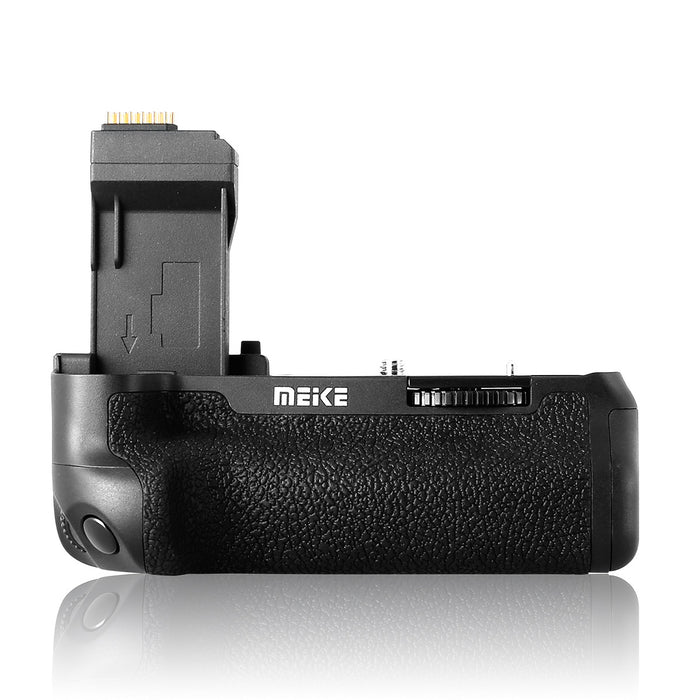 Meike MK-760D Pro Battery Grip Built-in 2.4GHZ Remote Controller Up to 100M to Control Shooting Vertical-Shooting Function for Canon EOS 750D 760D Rebel T6i T6s as BG-E18 with Wireless Remote Control + Gift with TTL Cord