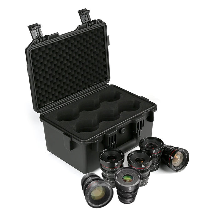 Meike  Cine lens Kit for MFT+Cine Lens Case-Fast Delivery