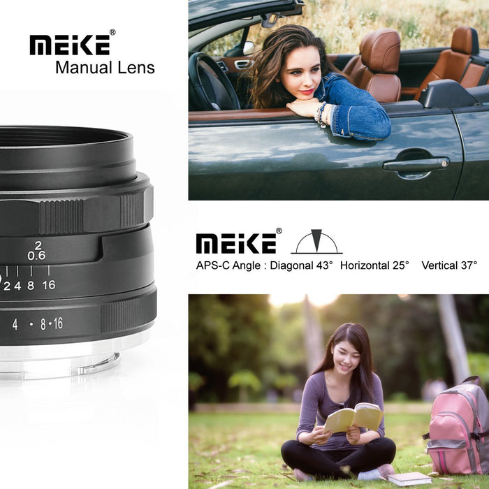 Meike 35mm F/1.4 Lens for Nikon Z Mount Cameras -Fast Delivery,