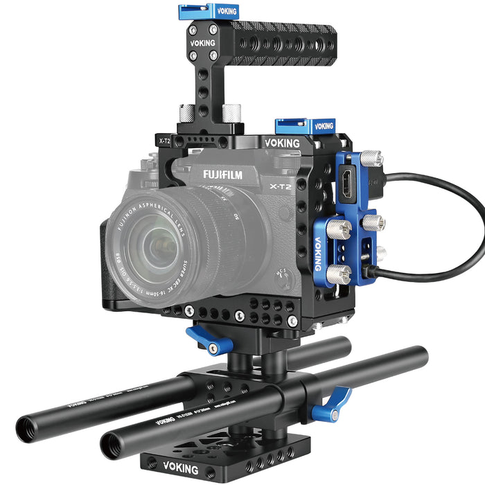 Voking VK-XT2B Film Movie Making Rig Camera Video Cage Kit