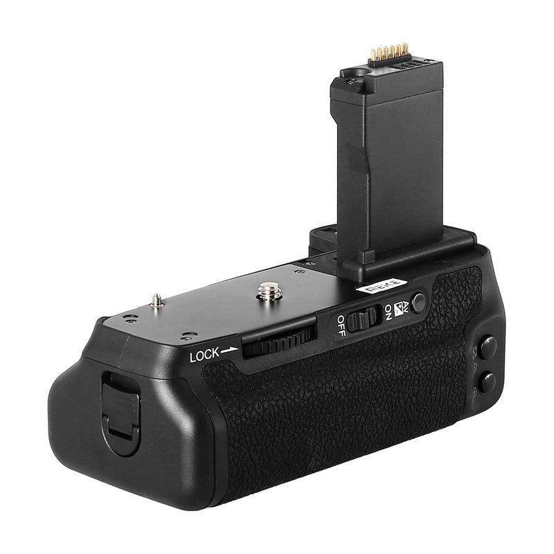 Meike MK-760D Professional Battery Grip Shooting Vertical-Shooting Function for Canon EOS 750D 760D Rebel T6i T6s as BG-E18