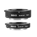 Meike MK-RF-AF1 11mm + 18mm Metal AF Full Frame Macro Extension Tube Adapter Ring Kit for for Canon EOS-R Series Cameras Canon RF Mount Cameras EOS-R EOS-RP
