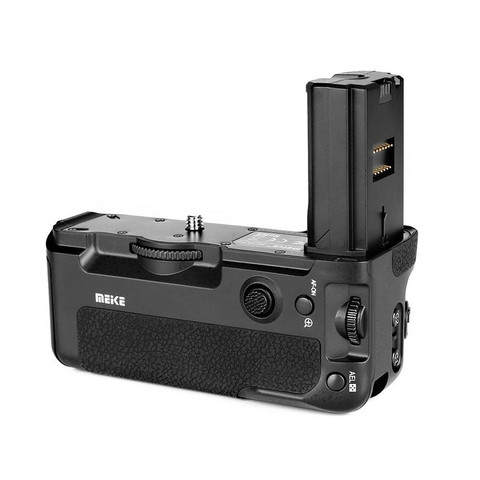Meike MK-A9 PRO/MK-A7R-III PRO Battery Grip for Sony A9 A7RIII A7III Built-in 2.4GHz Remote Controller Up to 100M Control Shooting Vertical shooting