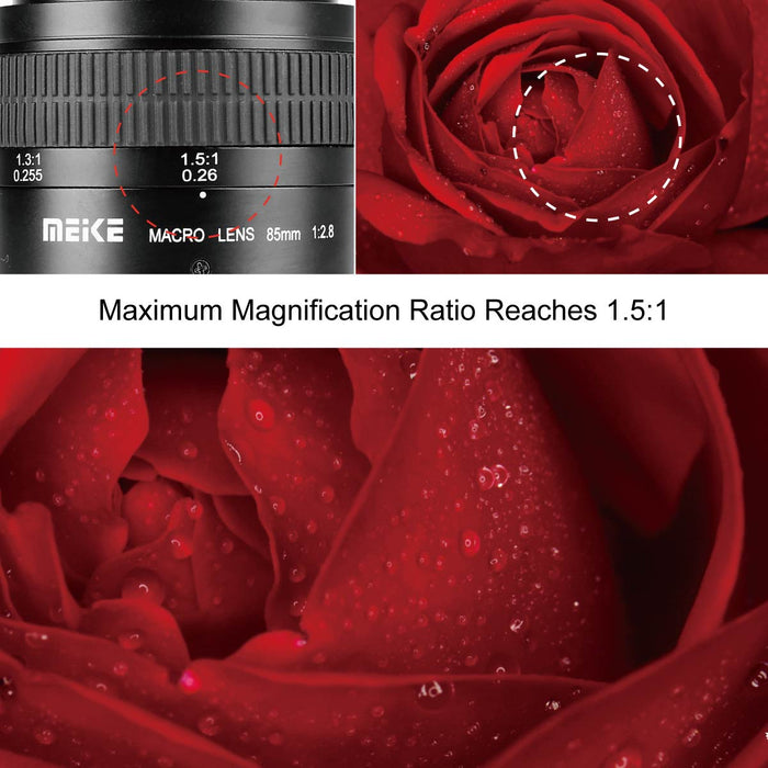 Meike 85mm F/2.8 Macro Lens for Sony E-Mount-Fast Delivery