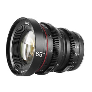 Meike MFT Cine Lens 65mm T2.2 for M4/3  Olympus Panasonic Lumix Cameras and BMPCC 4K-Fast Delivery