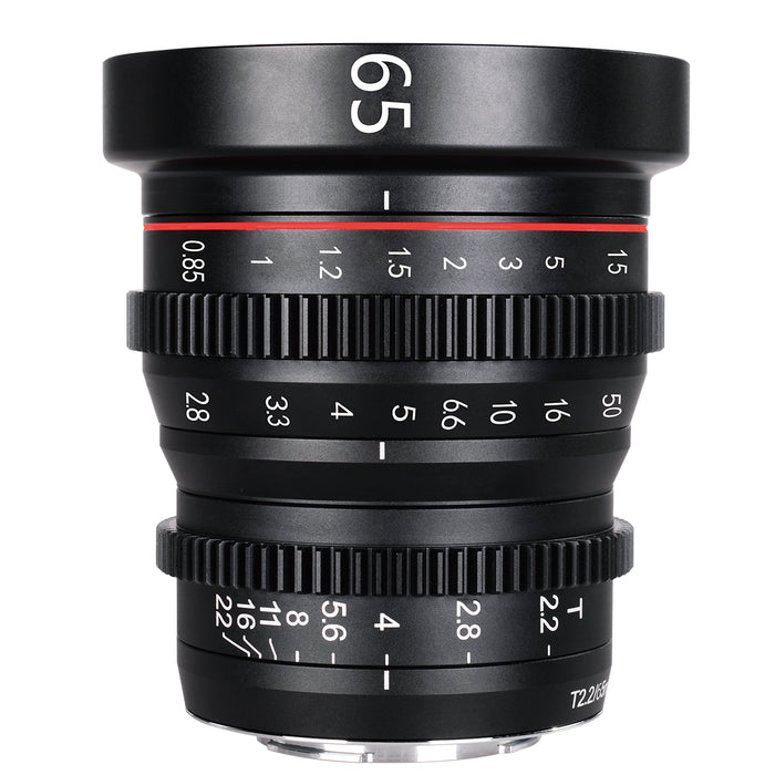 Meike Cine Lens 65mm T2.2 For Fujifilm X Mount Cameras-Fast Delivery