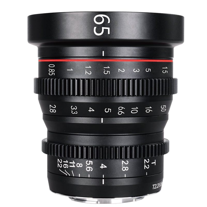 Presale: Meike MFT Cine Lens 65mm T2.2 for M4/3  Olympus Panasonic Lumix Cameras and BMPCC 4K-Fast Delivery