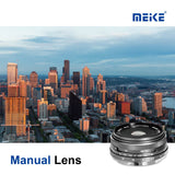 Meike MK 28mm f/2.8 Fixed Manual Focus Lens for MFT Panasonic Lumix Olympus cameras