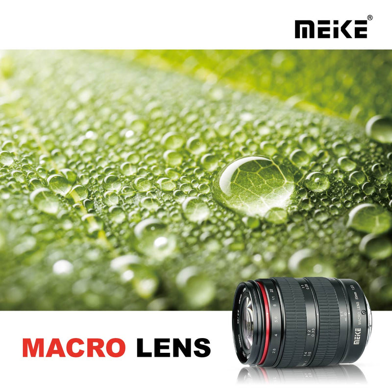 Meike 85mm F/2.8 Macro 1.5:1 Ratio for Nikon F Mount-Fast Delivery
