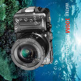 Voking VK-WPC-A6000 Professional waterproof camera case Protective Housing for Sony A6000