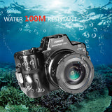Voking VK-WPC-A7S 328FT/100M Underwater camera diving waterproof housing For Sony A7 A7S A7R