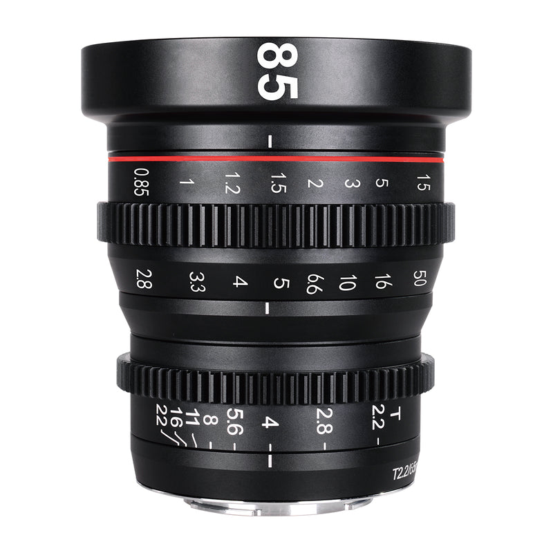 Presale: Meike Cine Lens 85mm T2.2 For Sony E Mount Cameras-Fast Delivery