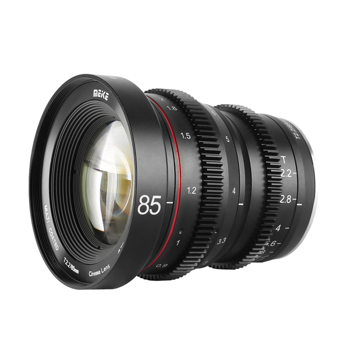 Meike Cine Lens 85mm T2.2 For Fujifilm X Mount Cameras-Fast Delivery