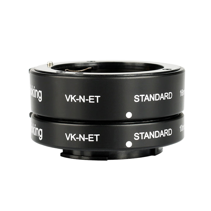 Voking VK-N-ET 10mm+16mm Auto Focus Macro Extension Tube Adapter Ring Kit for Nikon Mirrorless 1 Mount Cameras J1 J2 J3 V1 V2 V3