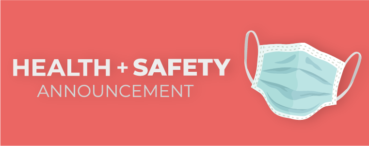Health and Safety Announcement Image