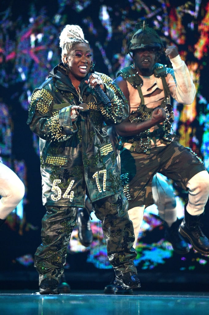 MISSY ELLIOT wears StudMuffin NYC at VMAS 2019