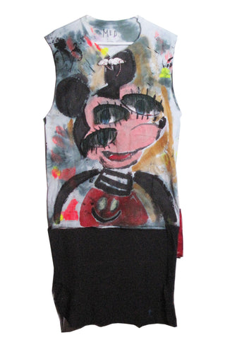 Scooter LaForge '3 EYED MICKEY' Tee with Tail