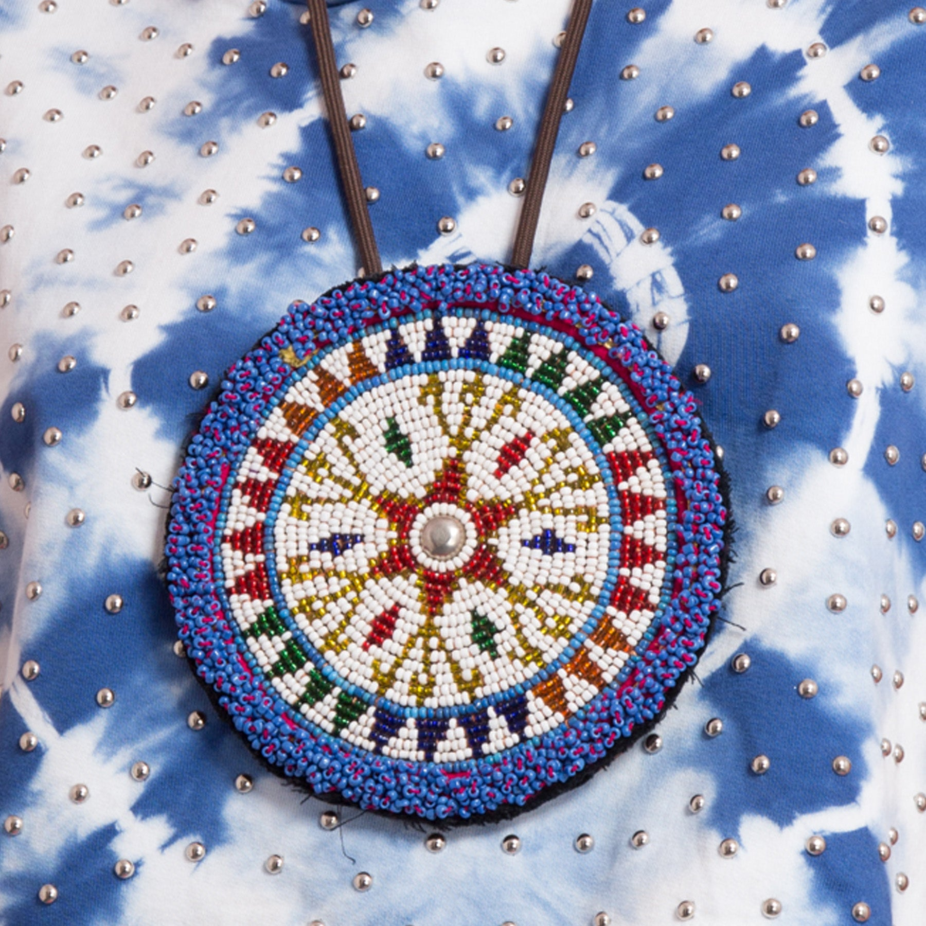 Beaded Platter Necklace