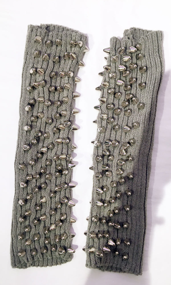 Custom Studded Leg Warmers