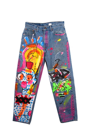 Iris Bonner THESEPINKLIPS 'Bad Ass' Jeans - VIDEO!- AVAILABLE FOR IMMEDIATE DELIVERY SIZE 34