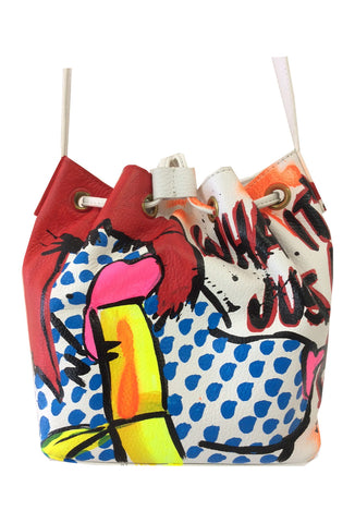 Iris Bonner THESEPINKLIPS Banana Girl Bucket Bag