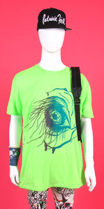 GREEN ELEPHANT EYE TEE