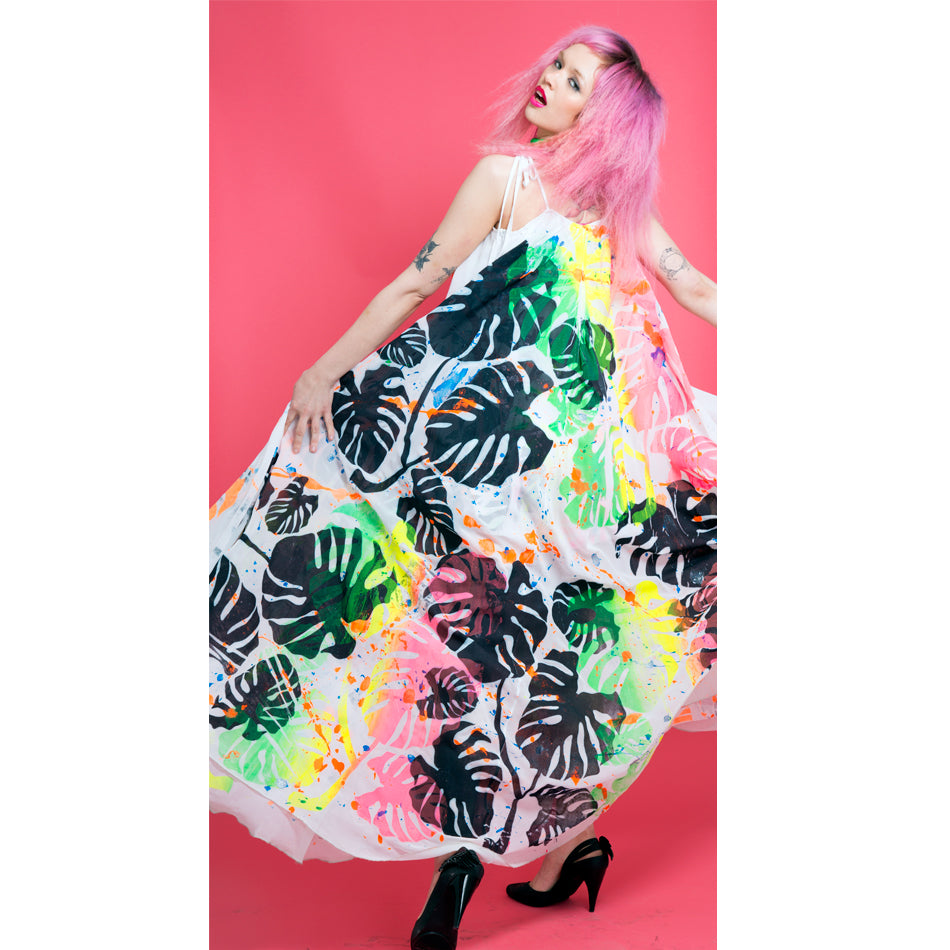 Monstera Madness Dress