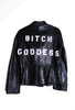 Suzanne Mallouk 'Bitch Goddess' 2 Genuine Leather Jacket