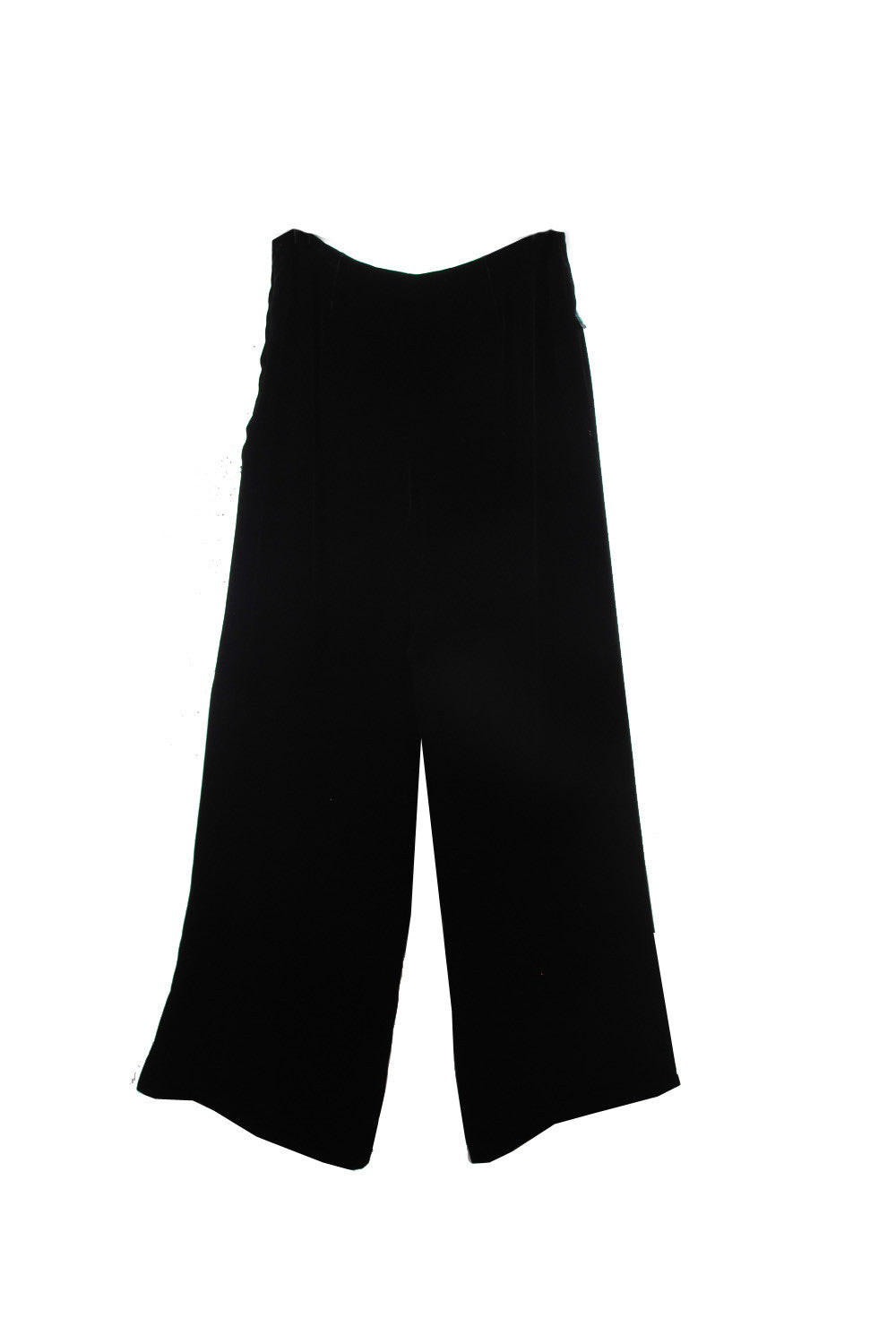 Suzanne Mallouk ONE OF A KIND Velvet Pants - AVAILABLE FOR  IMMEDIATE DELIVERY SIZE 8